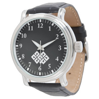Four squares joining two wristwatches