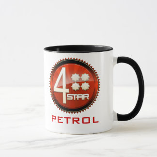 Four Star Petrol Logo Mug