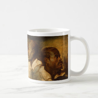 Four Studies of a Male Head, Ruebens Basic White Mug