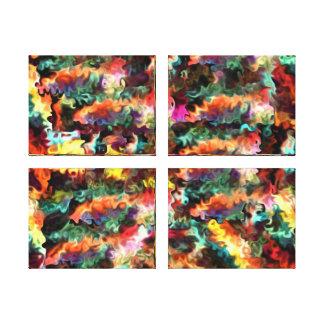 Four Thankful Minds Modern art Abstract 88 Canvas Print