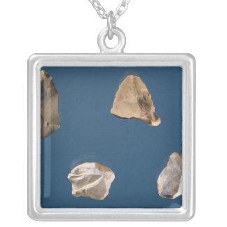 Four tools, 35000-10000 BC Square Pendant Necklace
