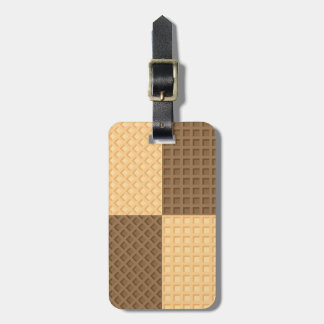 Four Wafers Luggage Tag