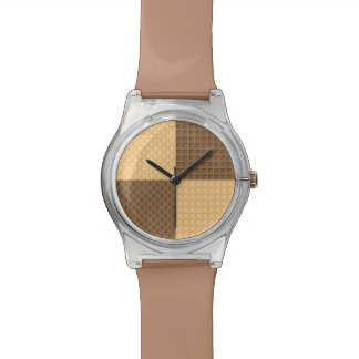 Four Wafers Wrist Watch