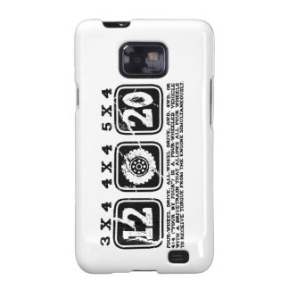 Four Wheel Drive or All Wheel Drive or AWD or 4WD Samsung Galaxy SII Cover
