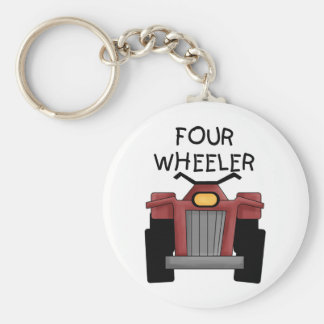 Four Wheeler Tshirts and Gifts Key Ring