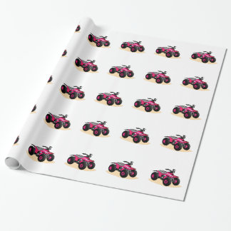 Four Wheeler Wrapping Paper