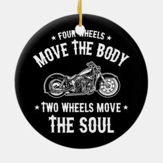 Four Wheels 1016 Christmas Ornament