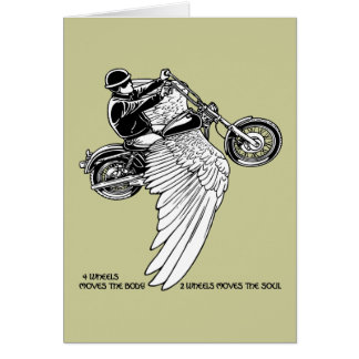 Four Wheels II Greeting Cards