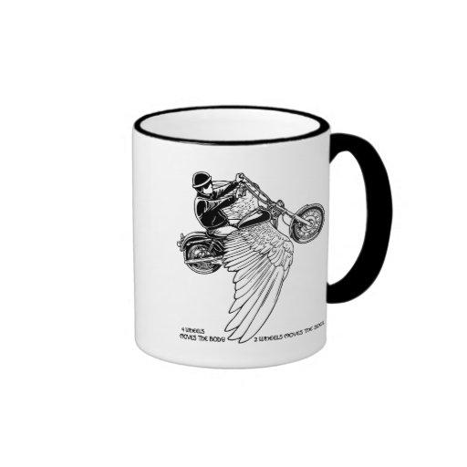 Four Wheels II Ringer Mug