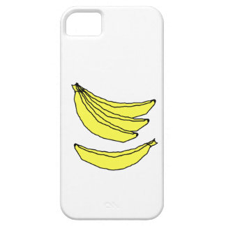 Four Yellow Bananas. Case For The iPhone 5