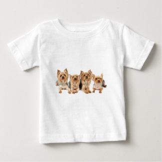 Four yorkies baby T-Shirt