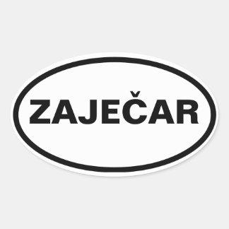 FOUR Zaječar Oval Sticker