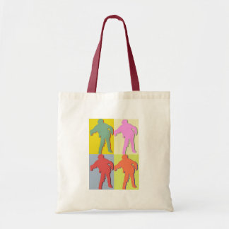 Four Zombies Style Tote Bag