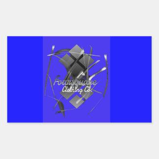 Foursquare Blue Sticker