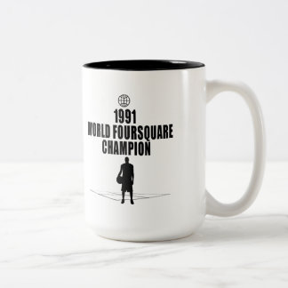 Foursquare Champion Coffee Mug