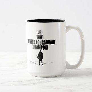 Foursquare Champion Two-Tone Mug