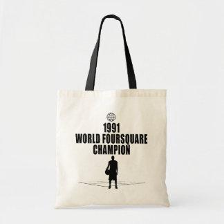 Foursquare Champion Budget Tote Bag