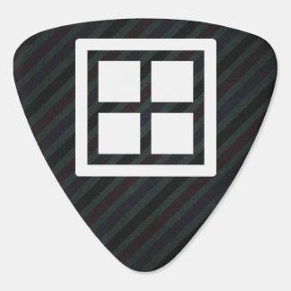 Foursquare Frames Minimal Guitar Pick
