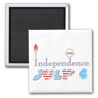 Fourth 4th Of July Refrigerator Magnets