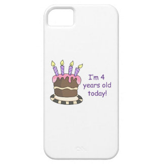 FOURTH BIRTHDAY iPhone 5 COVER