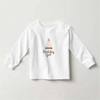 Fourth Birthday Girl T-Shirt
