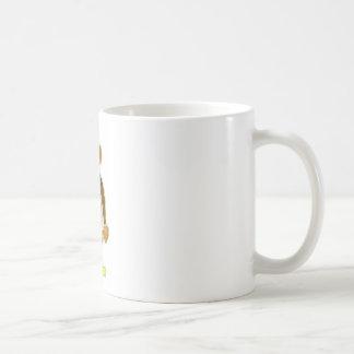 Fourth Birthday Monkey Basic White Mug