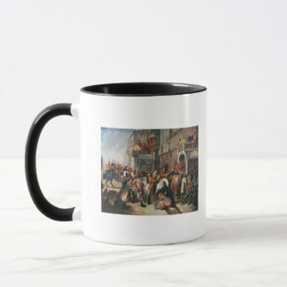 Fourth Dragoon Guards leaving Mug