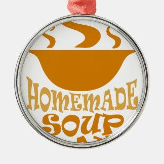 Fourth February - Homemade Soup Day Christmas Ornament
