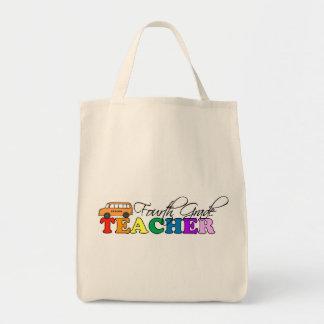Fourth Grade Teacher Tote Bag