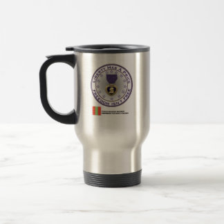 Fourth Infantry Regiment Remembers Stainless Steel Travel Mug