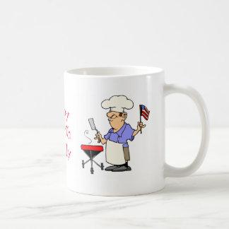Fourth of July Barbecue Coffee Mug