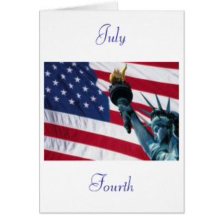 Fourth of July Card
