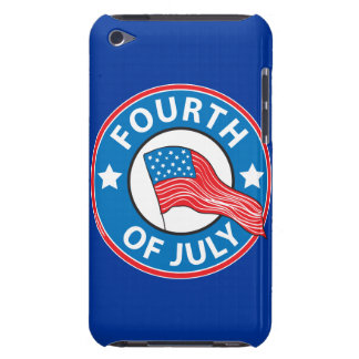 Fourth of July iPod Case-Mate Case