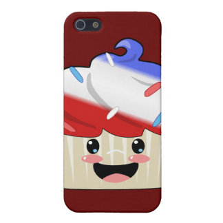 Fourth of July Cupcake iPhone 5/5S Case