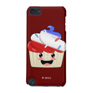 Fourth of July Cupcake iPod Touch 5G Covers