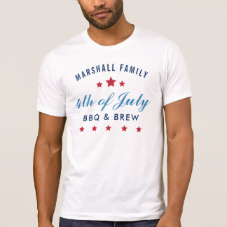 Fourth of July | Custom Party T-Shirt