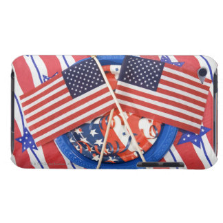 Fourth of July decorations Barely There iPod Cases