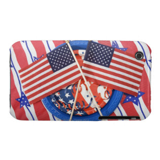 Fourth of July decorations iPhone 3 Case