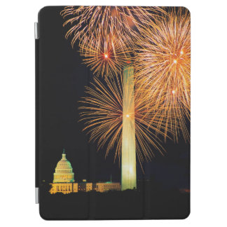 Fourth of July, Firework Display, Skyline iPad Air Cover