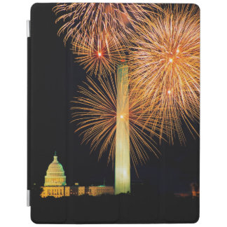 Fourth of July, Firework Display, Skyline iPad Cover