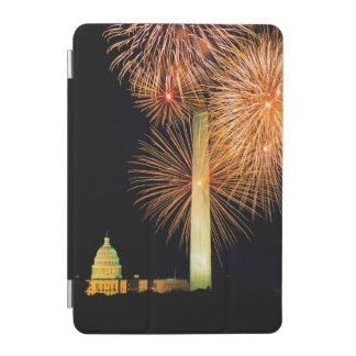 Fourth of July, Firework Display, Skyline iPad Mini Cover