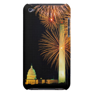 Fourth of July, Firework Display, Skyline iPod Touch Cover