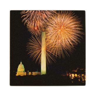 Fourth of July, Firework Display, Skyline Wood Coaster