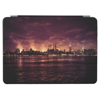 Fourth of July Fireworks behind Manhattan iPad Air Cover