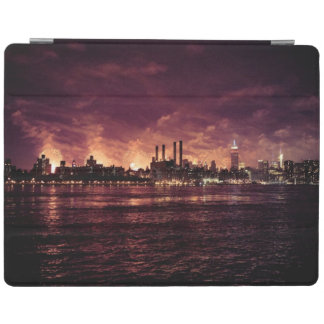 Fourth of July Fireworks behind Manhattan iPad Cover