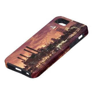 Fourth of July Fireworks behind Manhattan iPhone 5 Cases
