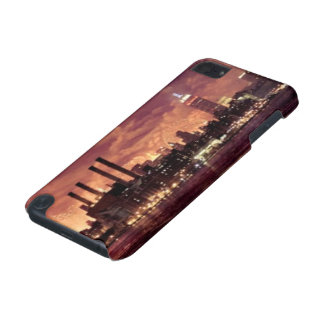 Fourth of July Fireworks behind Manhattan iPod Touch 5G Case