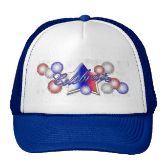Fourth of July Fireworks Hat