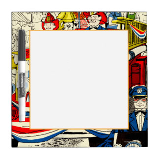Fourth of July Parade Dry Erase Board