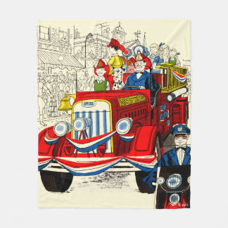 Fourth of July Parade Fleece Blanket